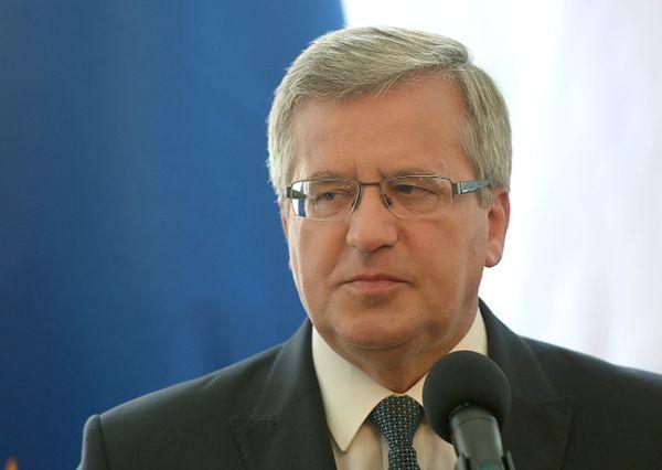 Bronisław Komorowski: sankcje dowodem, że Rosja nie podzieliła Zachodu