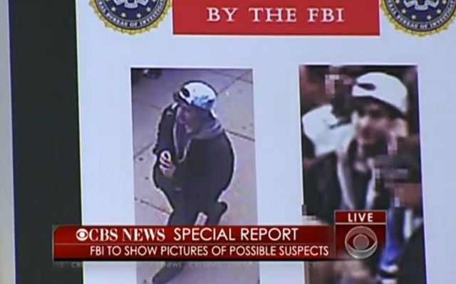 Zdjęcia podejrzanych o zamach w Bostonie