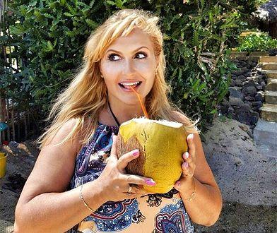 Katarzyna Skrzynecka spędza wakacje w raju