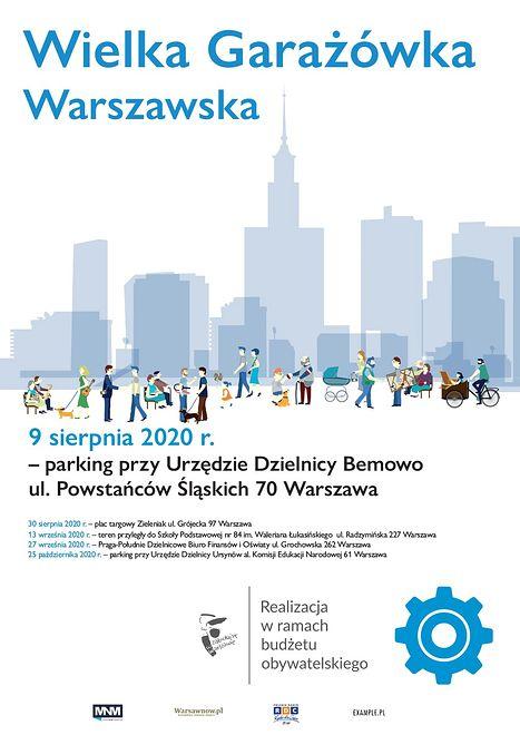 Warszawa. W wielu dzielnicach odbędą się garażówki
