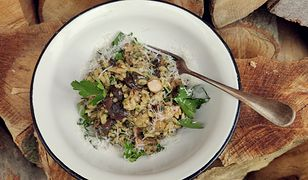 Kremowe risotto z grzybami leśnymi. Przepis na pyszny obiad