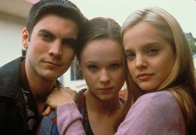"Wes Bentley, Thora Birch i Mena Suvari w filmie ""American Beauty"" (1999)"