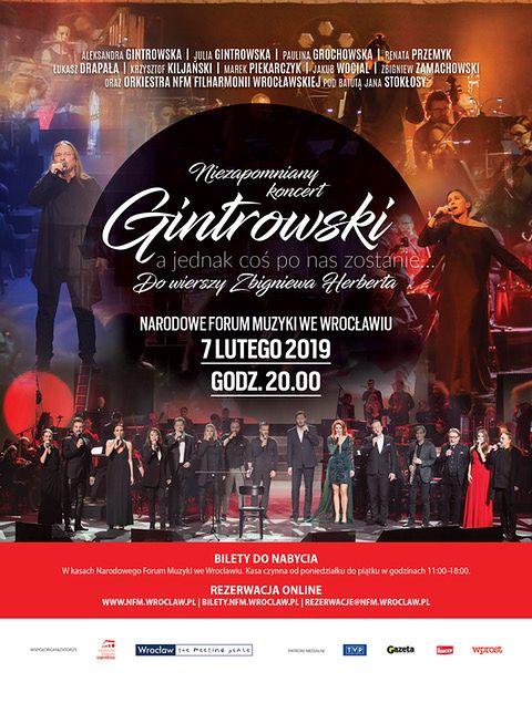 Wyjątkowy koncert w wyjątkowym miejscu: gwiazdy zaśpiewają Gintrowskiego do wierszy Zbigniewa Herberta