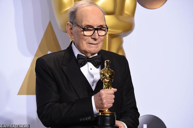 """W 2016 r. Ennio Morricone otrzymał Oscara za muzykę do """"Nienawistnej ósemki"""""""