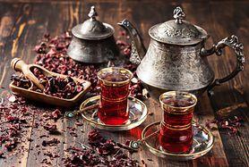 Herbata z hibiskusa (parzona)