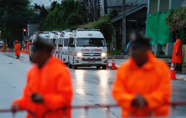Ratownicy uratowali już pięciu chłopców