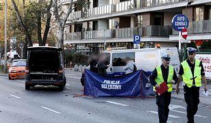 Warszawa. Wypadek na Bielanach