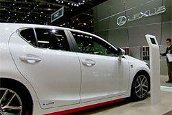 Lexus CT 200h i RC F w Genewie