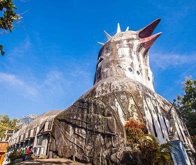 """Gereja Ayam, czyli """"kościół kurczaka"""". Jedyna taka świątynia na świecie"""