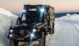Ciekawostka z ogłoszenia – Mercedes-Benz G kamper