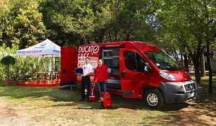 Specjalny kemping dla kamperów Ducato