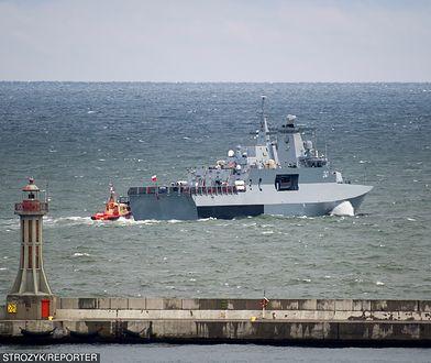 Wypadek na ORP Ślązak na Bałtyku