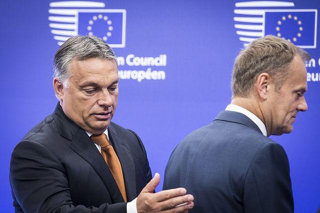 Premier Węgier Viktor Orban i nowy szef EPL Donald Tusk