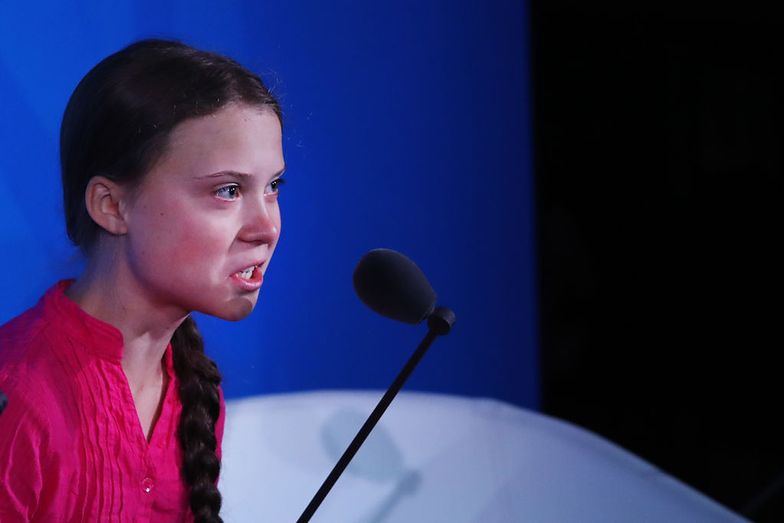 Zero litości. Greta Thunberg wali w prezydenta USA