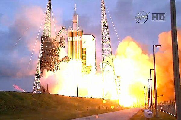 """Misja statku """"Orion"""" zakończona sukcesem"""
