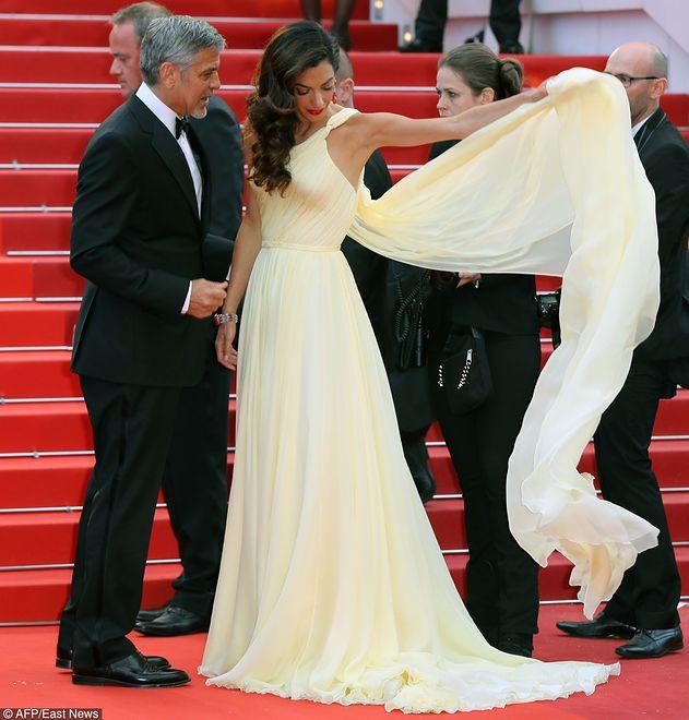 Amal Clooney debiutuje na czerwonym dywanie w Cannes