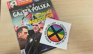 """Naklejki """"Gazety Polskiej"""" przeciwko LGBT. Sąd zakazał ich rozpowszechniania"""
