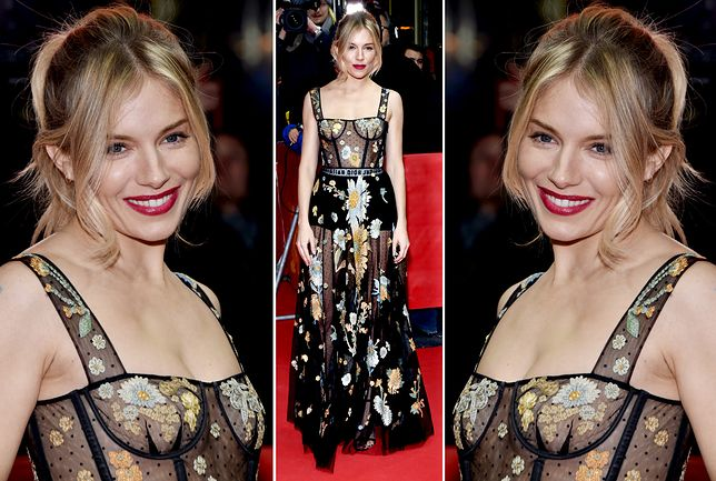 "Sienna Miller na premierze ""The Lost City of Z"""