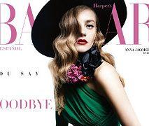 Anna Jagodzińska w Harper's Bazaar Mexico