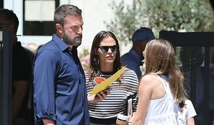 Ben Affleck i Jennifer Garner poszli razem do kościoła