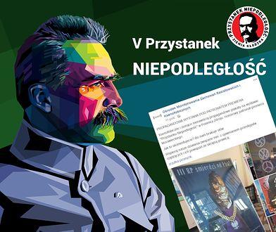 """Polanica Zdrój. Kontrowersyjna wystawa """"Przystanek Niepodległość"""" została zorganizowana na terenie państwowej spółki"""