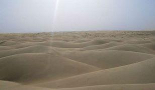 Powiew egzotyki w Polsce - piasek z Sahary nad Małopolską