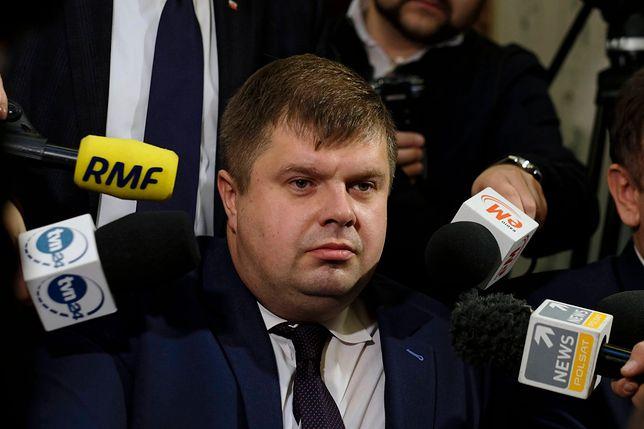 Wojciech Kałuża, kiedyś polityk Nowoczesnej, dziś w klubie radnych PiS
