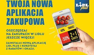 Aplikację Lidla można już pobrać na swój telefon