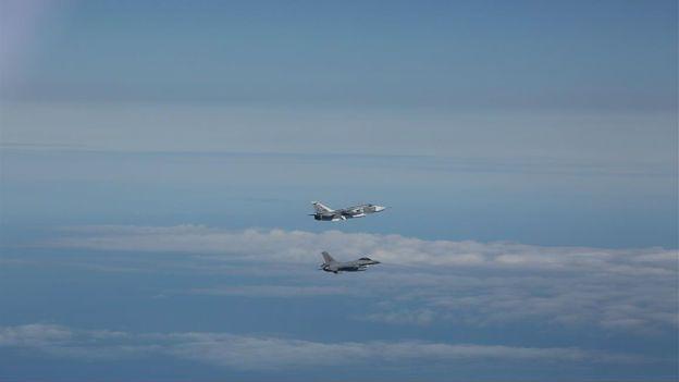 Rosyjskie samoloty na celowniku norweskich F-16