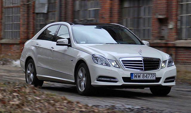 Mercedes E 250 CDI 4Matic: nie tylko dla dostojnika