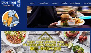 Znana w Chinach sieć restauracji debiutuje w Polsce. Pierwszy Blue Frog we Wrocławiu