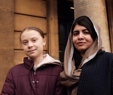 Greta i Malala razem