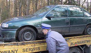 Nabici w kradzione auto
