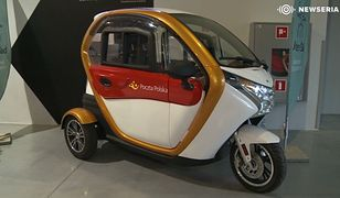 Elektryczny pojazd, który ma być przyszłością usług kurierskich i pocztowych.