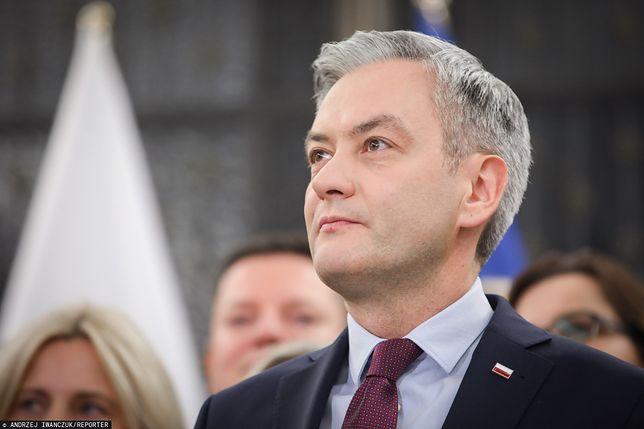 """Wybory prezydenckie 2020. Robert Biedroń gościem programu """"Tłit"""""""