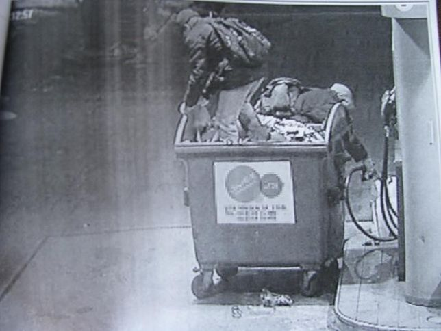 Kradli paliwo podjeżdżając na stacje śmietnikiem