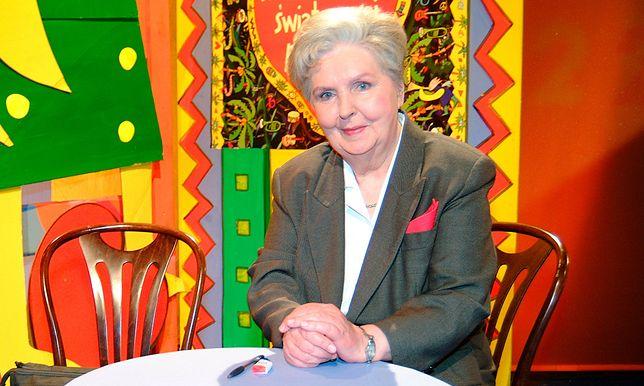 Halina Miroszowa byłą przez 50 lat twarzą telewizji.