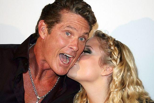 David Hasselhoff z córką Hayley