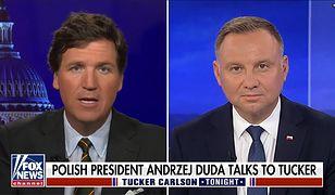 Prezydent Andrzej Duda wystąpił w amerykańskiej telewizji FOX News