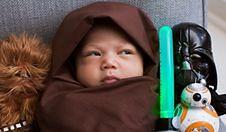 Córka Zuckerberga jako mistrz Jedi