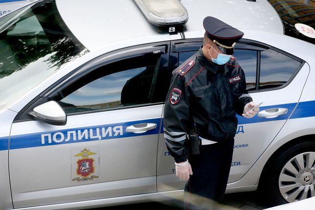 Policja w Rosji (zdjęcie ilustracyjne)
