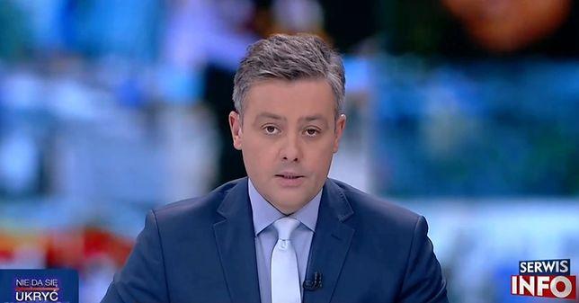 Michał Cholewiński zaskoczył widzów TVP swoim oświadczeniem