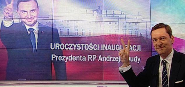 """Krzysztof Ziemiec krytykowany za zdjęcie z prezydentem Dudą. """"Żarcik"""" czy niefrasobliwość?"""