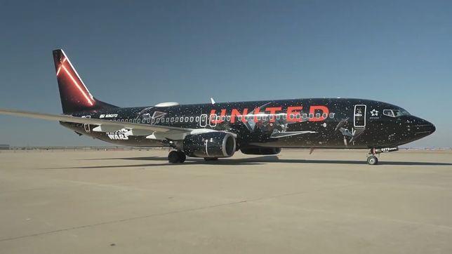 Samolot amerykańskich linii United
