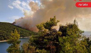 Ogień na wyspie szybko się rozprzestrzeniał, dlatego zostały zaangażowane dodatkowe służby z kontynentalnej części Grecji