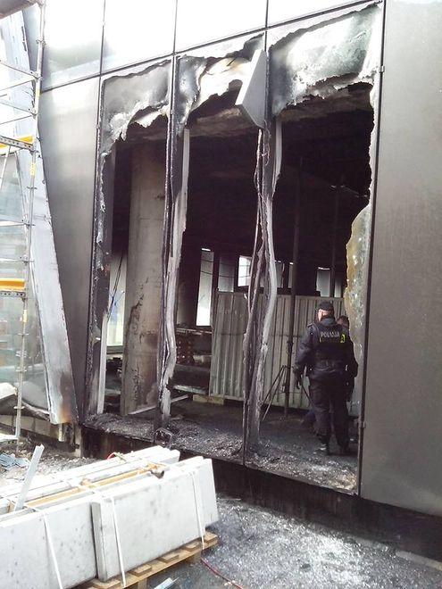 Pożar w warszawskim wieżowcu Q22. Ewakuacja kilkudziesięciu osób