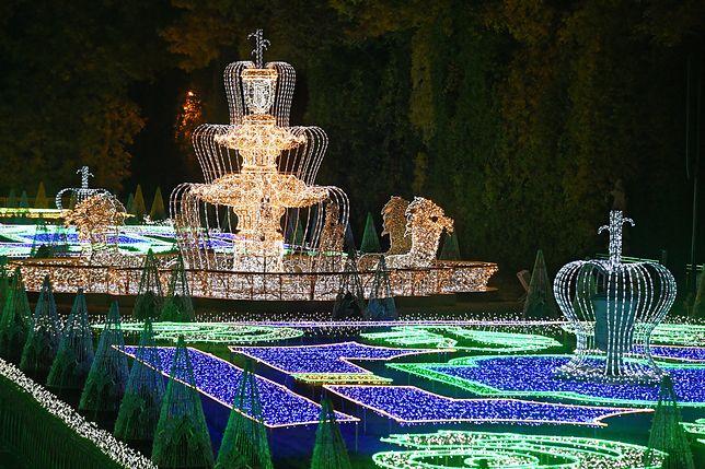 Warszawa. Inauguracja Królewskiego Ogrodu Światłu 19 października w Wilanowie