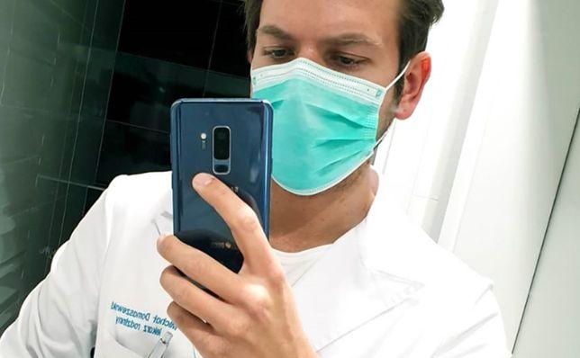 """Koronawirus w Polsce. Doktor Michał Domaszewski: """"Każda wizyta w POZ to ryzyko dla malucha"""""""