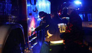 Kalisz. Strażacy znaleźli rannego mężczyznę (zdjęcie ilustracyjne)