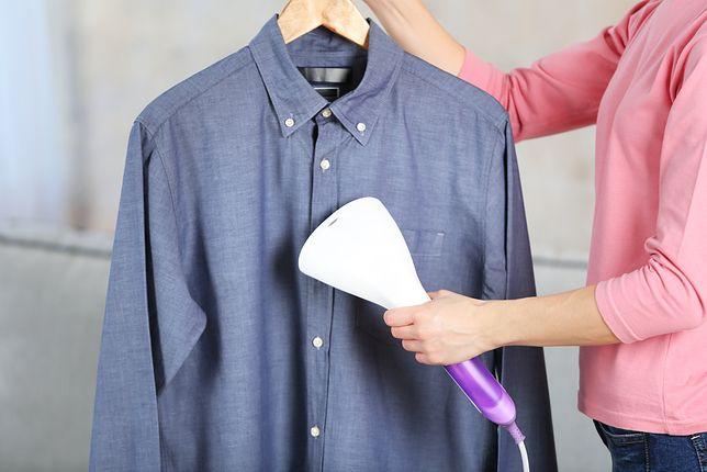 Parownica świetnie sprawdza się w przypadku delikatnych tkanin